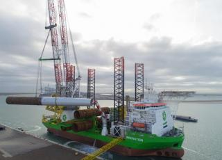 Moray East selects GeoSea for supply and installation of substructures