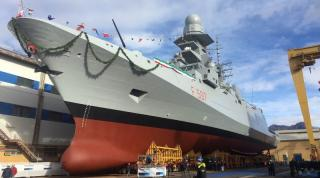 Fincantieri launches the eighth multipurpose frigate - Antonio Marceglia