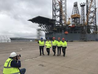 Forth Ports and AF Offshore Decom UK to establish a new joint venture at Port of Dundee