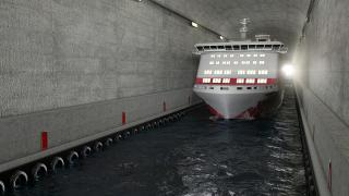 Norwegian Coastal Administration will build the world's first ship tunnel (Video)
