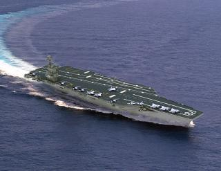 John F. Kennedy Aircraft Carrier Keel Laying Ceremony