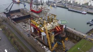 Damen Verolme Rotterdam completes refit of drilling rig Stena Don