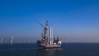 Van Oord completed the installation of Belgium's largest offshore wind farm