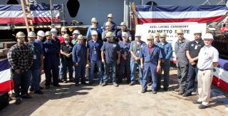 General Dynamics NASSCO Master Shipbuilder Lays Keel for Eighth Ship in ECO Class Tanker Program (Video)