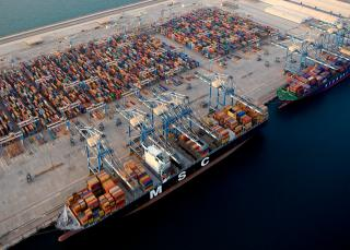 Abu Dhabi Ports collaborating with MSC Mediterranean Shipping Company on international blockchain solution Silsal