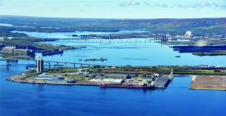 Clure Terminal expansion at Port of Duluth-Superior ready for 2017 season