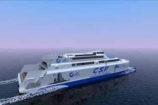 Incat Crowther Designing 1000-Passenger Ro-Pax Ferry for Taiwan Route
