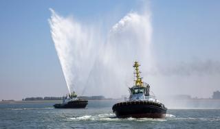 Multraship holds naming ceremony for two new Damen Tugs