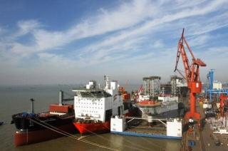 Cosco unit delays delivery of another jack-up rig