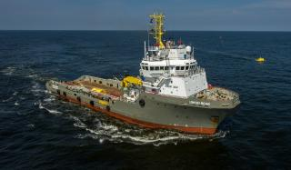 Boskalis transports and installs The Ocean Cleanup's first prototype (Video)
