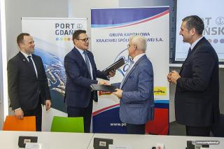 New sugar terminal to be constructed at the Port of Gdansk