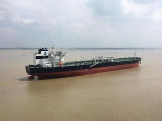 Navig8 Product 2020 Takes Delivery Of Its First 110,600 DWT Scrubber-Fitted LR2 Tanker From New Times Shipbuilding