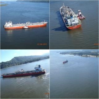 Stuck fuel tanker on Columbia River refloated, heads to Port of Longview