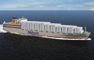 Matson Signs Contract With NASSCO To Build Two New Con-Ro Ships For Hawaii Service