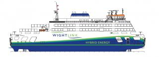 Wightlink reveals the name of its new flagship