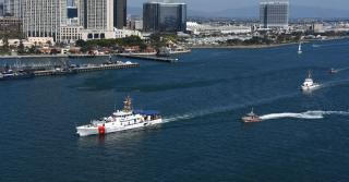 US Coast Guard commissions newest FRC in San Diego