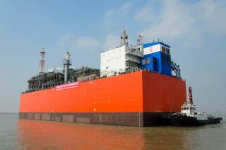 EXMAR Takes Delivery of World's First Barge-Based FSRU