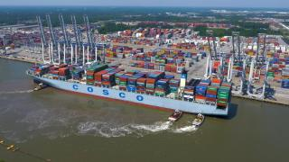 GPA surpasses 4 million TEUs in 2017 — An increase of 11 percent and the port's highest annual volume ever