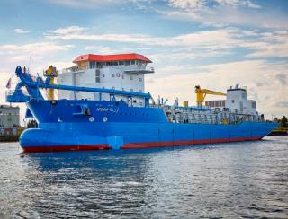 State-of-the-art dredger launched with Wärtsilä propulsion system