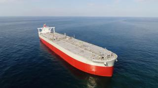 "K-Line takes delivery of 311,000 DWT-type VLCC ""KISOGAWA"""