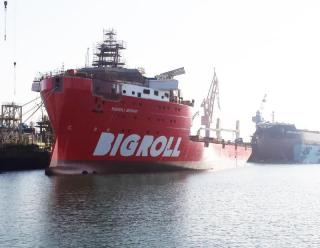 Delivery Of Bigroll Bering To Bigroll Shipping