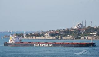 Diana Shipping signs time charter contract for mv Aliki with SwissMarine