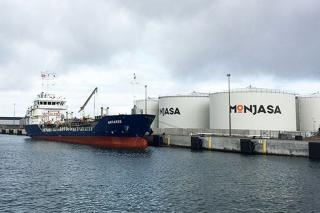 Bunker vessel Antares joins Monjasa North West European fleet