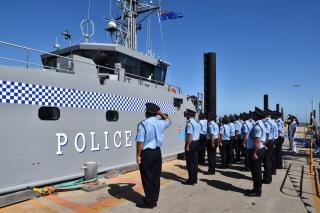 Austal Delivers Second Guardian Class Patrol Boat