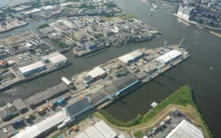 New Hamburg terminal for OPDR: C. Steinweg's Süd-West-Terminal will take over handling of all vessels