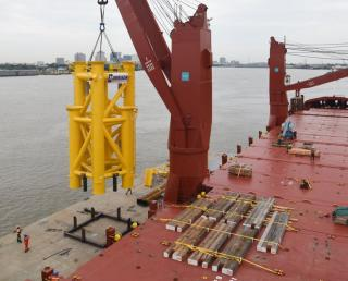 Port of New Orleans Collaborates with New Orleans-based Construction & Shipping Companies to Export Oil Platform Components