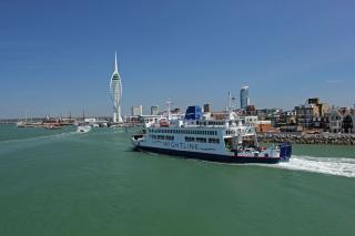 Wightlink installs impressive new technology on the Fishbourne-Portsmouth route