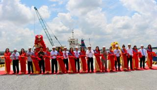 Phase One of Vinalines Hau Giang port project completed
