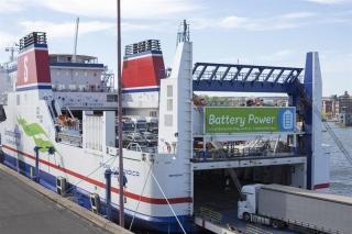 Smooth sailing for Stena Line's battery hybrid vessel