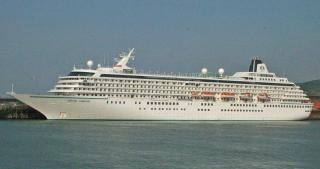 Crystal Cruises back to Dover