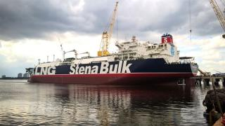 Safety Achievement Award from Chamber of Shipping of America to Stena Blue Sky