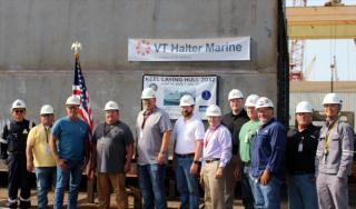 VT Halter Marine Commences Construction of Two Navy Berthing Vessels