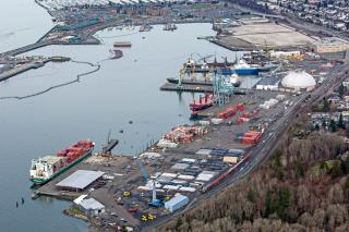 Port of Everett Breaks Ground on $36 Million South Terminal Wharf Modernization Project