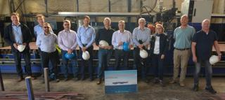 Steel cutting started at Shipyard De Hoop for new Silversea order