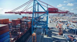Record fall in container volumes at the Port of Gothenburg