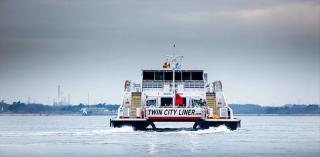 Wight Shipyard deliver new ferry to TCL Twin City Cruises