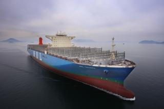 MOL's first 20,170 TEU containership will commence its maiden voyage
