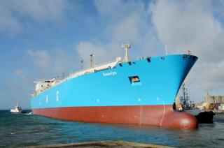 Renewal survey maintenance programme on the 290-metre LNG carrier Gaselys completed at Damen Shiprepair Brest