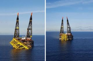 GALLERY: Maersk Oil puts all three Culzean jackets in place