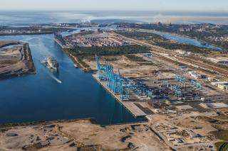APM Terminals Lazaro Cardenas, Mexico's largest semi-automated terminal, welcomes its first vessel - the Maersk Salalah