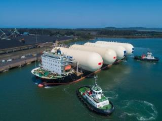 New LPG Storage Tanks Arrive at Port of Richards Bay