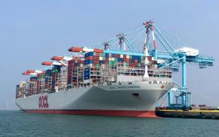 Port of Zeebrugge sets new record with maiden call of OOCL United Kingdom