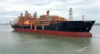 Kraken FPSO reaches offshore location