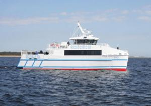 New Generation Catamaran RO-PAX Ferry Launched by Incat Crowther