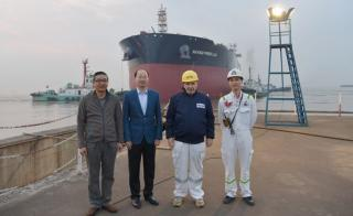 New Times Shipbuilding Launches Two Aframax Tankers for Frontline