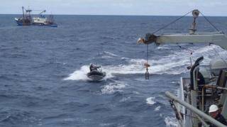 Vessel Detained for Conducting Illegal Salvage of Sunken Ship